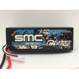SMC SMC65120-4S2PT  True Spec DV 14.8V 6500mAh 75C Lipo w/Traxxas
