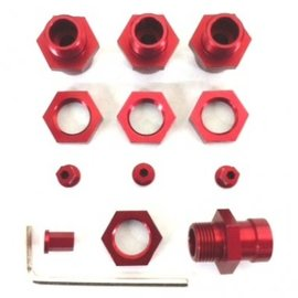 STRC SPTST1654-17R  ST Racing Concepts 17mm Hex Conversion Kit (Red)