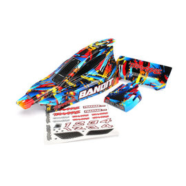 Traxxas TRA2448  Bandit Rock n' Roll Body(painted, decals applied)