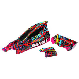Traxxas TRA2449  Bandit Hawaiian Graphics Body (Painted w/ decals)