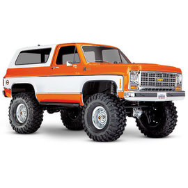 Traxxas TRA8130  TRX-4 1979 Chevrolet Blazer Clear Body (w/ Masks)