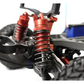 Racers Edge RCE1849R  Slash 2/4WD Aluminum Front Shock (pr) - Red