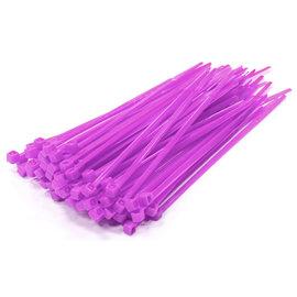 Integy C23386PURPLE  Purple Plastic Tie Wrap/Cable Tie Small (100)
