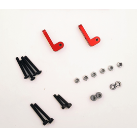 Cross RC CRZ97400348 Upgrade Rear Shock Mount Kit: SG4, SR4
