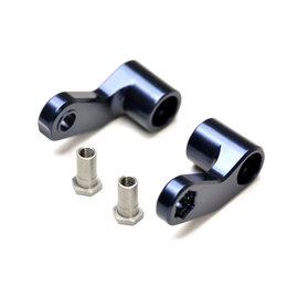 Exotek Racing EXO1822 EB410 Steering Cranks, 1 pair 7075 with Steel Posts