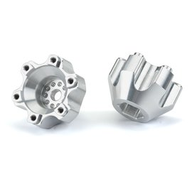 """Proline Racing PRO6337-01 6x30 to 12mm Aluminum Hex Adapters (Wide) for Pro-Line 6x30 2.8"""" Wheels"""