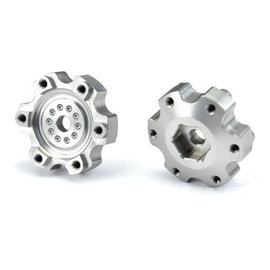 """Proline Racing PRO6337-00 6x30 to 12mm Aluminum Hex Adapters (Narrow) for Pro-Line 6x30 2.8"""" Wheels"""