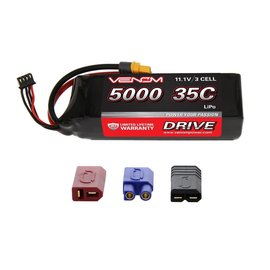 Venom Racing VNR15026  DRIVE 35C 3S 5000mAh 11.1V LiPo Battery with UNI 2.0 Plug
