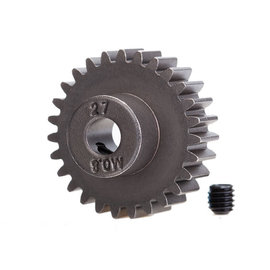 Traxxas TRA5647  27-T Pinion Gear(0.8 metric pitch, compatible with 32-pitch) (fits 5mm shaft)