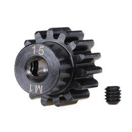Traxxas TRA6487R  15T Pinion Gear (1.0 Metric Pitch)(5mm Shaft)