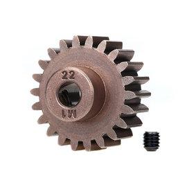 Traxxas TRA6495X 22T Steel Mod 1.0 Pinion Gear w/5mm Bore