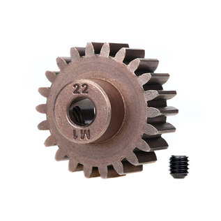Traxxas TRA6495X 22T Pinion Gear(1.0 Metric Pitch)(5mm Shaft)