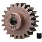 Traxxas TRA6495X 22T Steel Mod 1.0 Pinion Gear w/5mm Bore