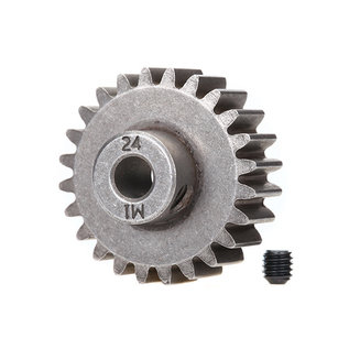 Traxxas TRA6496X  24T Pinion Gear(1.0 Metric Pitch)(5mm Shaft)