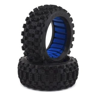 Proline Racing PRO9067-01 Badlands MX M2 (Medium) All Terrain 1:8 Buggy Tires (2) for Front or Rear