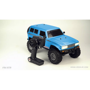 Cross RC CZRFR4RTRB  Cross RC FR4 1/10 Demon 4x4 RTR Crawler (Blue)