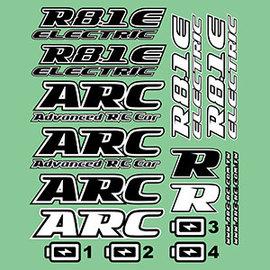 ARC R819006 ARC R8.1E Decal