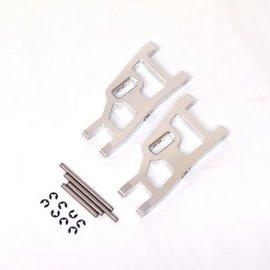 STRC SPTST3631S  Silver Aluminum Front Suspension Arms w/ Hinge Pins