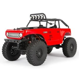Axial Racing AXI90081T1 1/24 SCX24 Deadbolt 4WD Rock Crawler Brushed RTR, Red