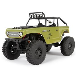 Axial Racing AXI90081T2 1/24 SCX24 Deadbolt 4WD Rock Crawler Brushed RTR, Green