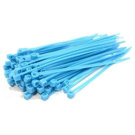 Integy C23386LIGHTBLUE  Light Blue Plastic Tie Wrap Size Small (100)