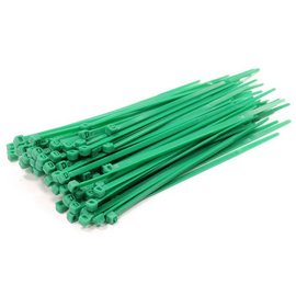 Integy C23386GREEN  Green Plastic Tie Wrap/Cable Tie Small (100)