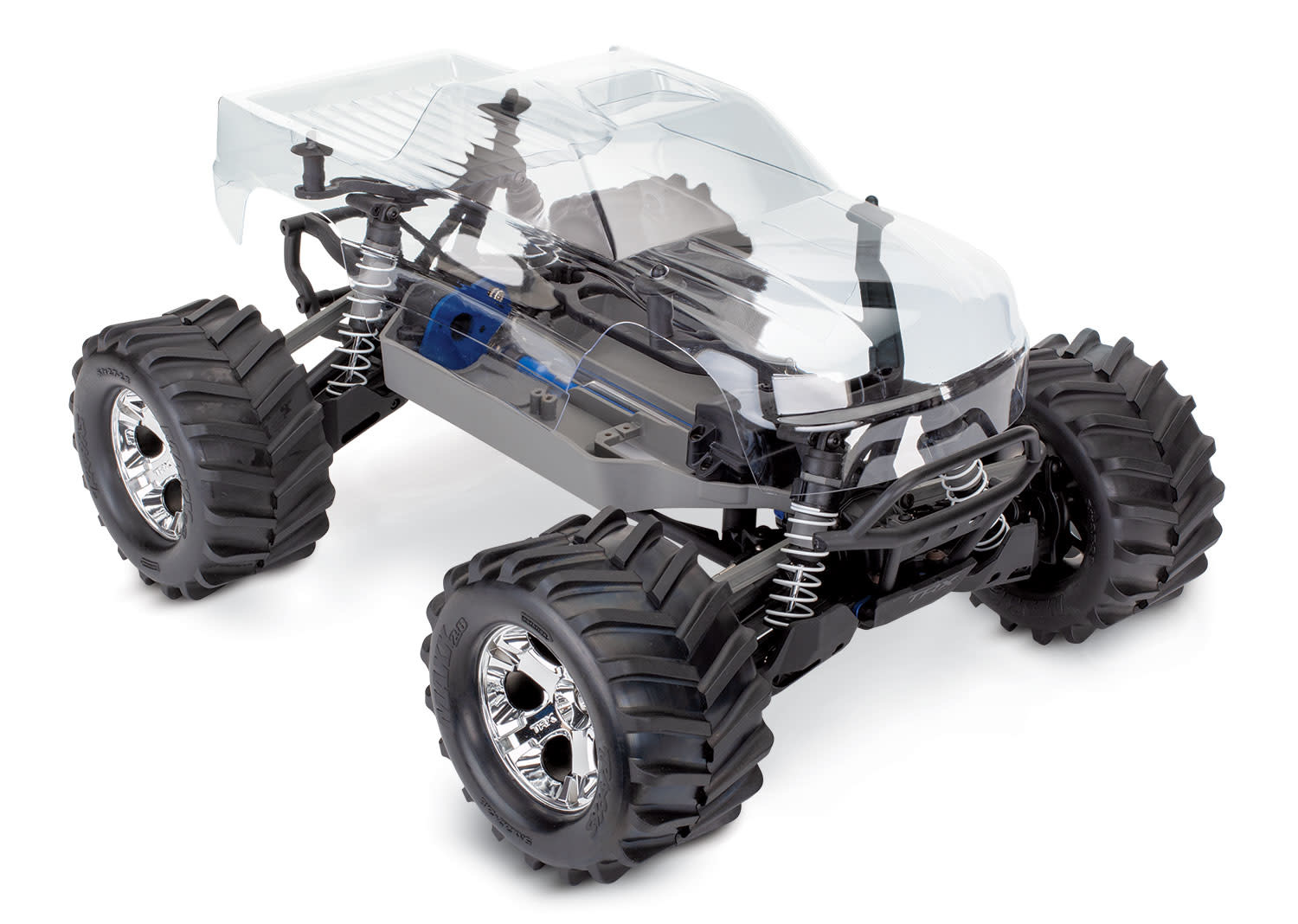 TRA67010-4 Stampede® 4X4 Unassembled Kit: 1/10-scale 4WD Monster Truc