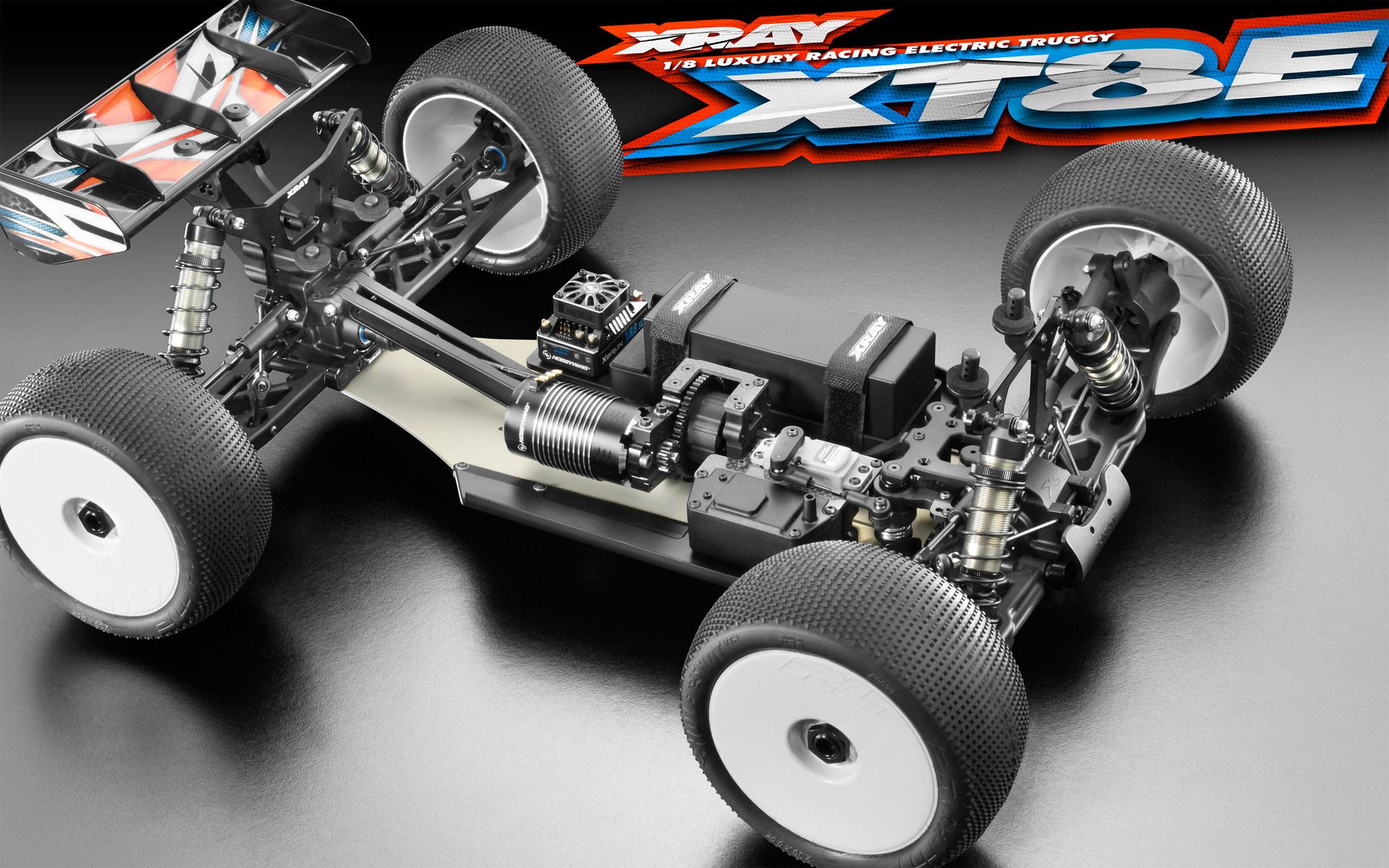 XRA350300 XT8E 2019 Spec Luxury 1/8 Electric Off-Road Truggy Kit