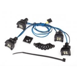 Traxxas TRA8086 LED expedition rack scene light kit (fits #8111 body, requires #8028 power supply)