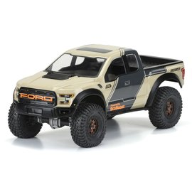 "Proline Racing PRO3516-00  2017 Ford F-150 Raptor Body, for 12.3"" Wheelbase Crawlers"