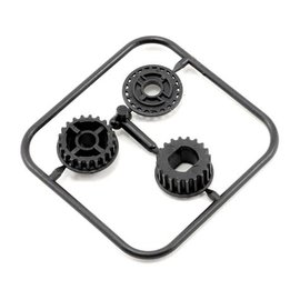 Serpent SER804112  Pully 2sp shaft (2) for 747E, 733, 748