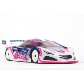ZooZilla ZR-0006-07  Hellcat 0.7mm Standard 190mm Touring Car Clear Body Shell