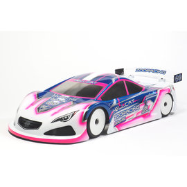 ZooZilla ZR-0006-05 Hellcat 0.5mm Ultralight 190mm Touring Car Clear Body Shell