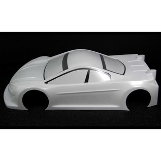 ZooZilla ZR-0006-05 Hellcat 0.5mm Ultralight 190mm Touring Car Clear Body Shell