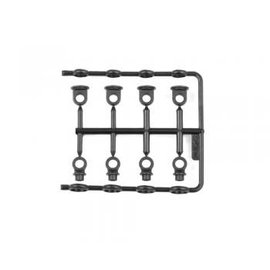 Serpent SER160129 Shock end frame RCM-SS (4+4)