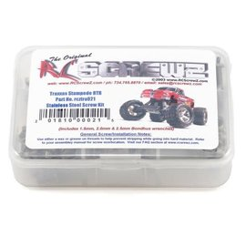 RC SCREWZ RCZTRA021 Traxxas Stampede XL5 Stainless Steel Screw Kit