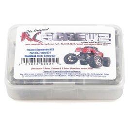 RCZTRA021 Traxxas Stampede XL5 Stainless Steel Screw Kit