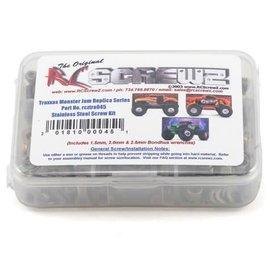 RCZTRA045 Traxxas Monster Jam Series Stainless Steel Screw Kit