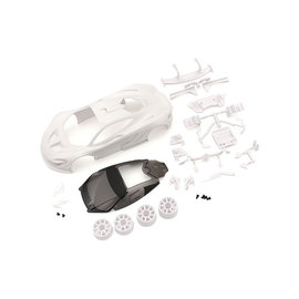 Kyosho KYOMZN190  McLaren P1 GTR White body set(w/Wheel)