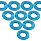 3-Racing 3RAC-WF305LB Light Blue Aluminum M3 Flat Washer 0.5mm (10)
