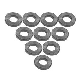 3-Racing 3RAC-WF310TI Titanium Aluminum M3 Flat Washer 1.0mm (10)