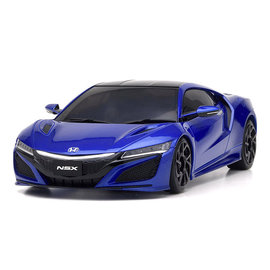 Kyosho KYO32322BL-B  MINI-Z RWD NSX Nouvelle Blue Pearl RS w/ MR-03 Chassis