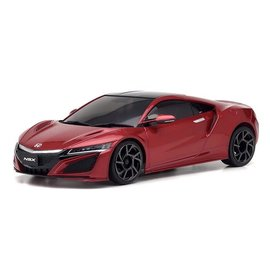 Kyosho KYO32322R-B  MINI-Z RWD NSX Valencia Red Pearl RS w/ MR-03 Chassis