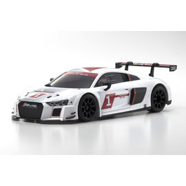 Kyosho KYO32323AS-B  MINI-Z RWD Audi R8 LMS White 2015 MR-03 Readyset w/ MR-03 Chassis