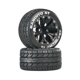 Duratrax DTXC3544  Bandito ST 2.8 C2 Truck 2WD Mounted Rear 1/2 Offset Black (2)