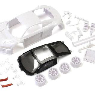 Kyosho KYOMZN189  Audi R8LMS2015/16 White Body Set (w/Wheels)