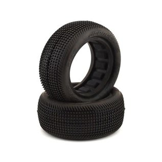 """J Concepts JCO3135-02 Sprinter 2.2"""" 4WD Front Buggy Dirt Oval Tires (2) (Green)"""