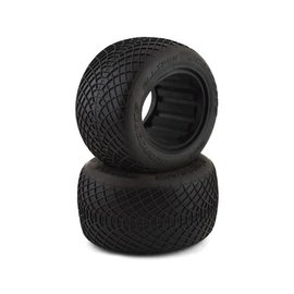 "J Concepts JCO3199-02  JConcepts Ellipse 2.2"" 1/10 Stadium Truck Tires (2) (Green)"