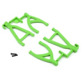 RPM R/C Products RPM80604  Green Rear Upper & Lower A-Arm Set for 1/16 E-Revo