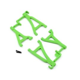 RPM R/C Products RPM80694  Green Front Upper & Lower A-Arm Set  for 1/16 E-Revo